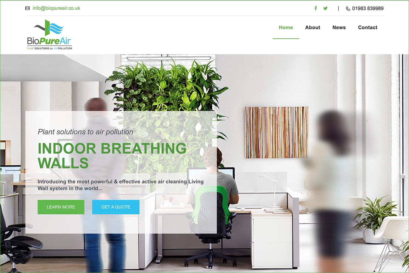 BioPure website 1
