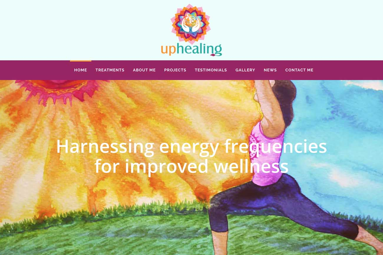 Jo Mew Creative Usha Parmar UP Healing Website