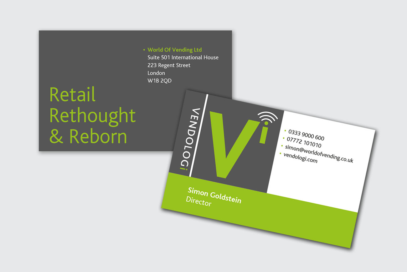 PF Vendologi Business Cards